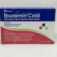 IBURAMIN COLD Film Kaplı Tablet, ne işe yarar, nasıl kullanılır, yan etkileri nelerdir?