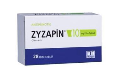 ZYZAPIN 10 mg Film Tablet, nedir, ne işe yarar, yan etkileri nelerdir ?