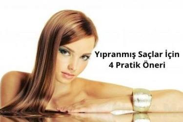 Yıpranmış Saçlar İçin Kesin Çözüm