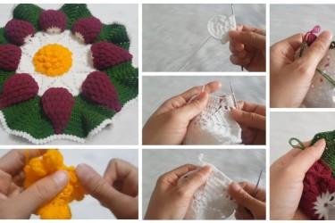 Üzüm Desenli Lif Modeli Yapımı