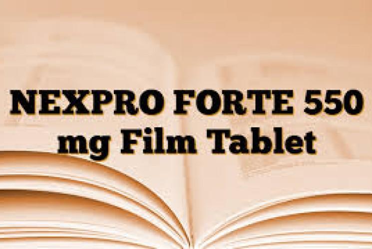 NEXPRO FORTE 550 mg Film Tablet>