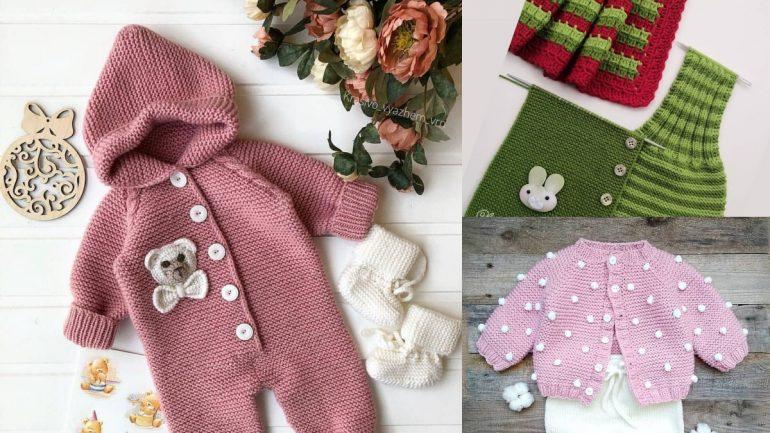Yeni Sezon En Güzel Bebek Örgü Modelleri